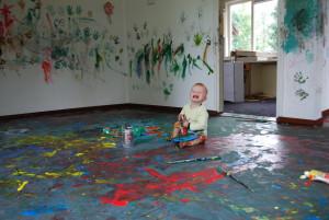 """schilderen van het """"oude"""" huis"""